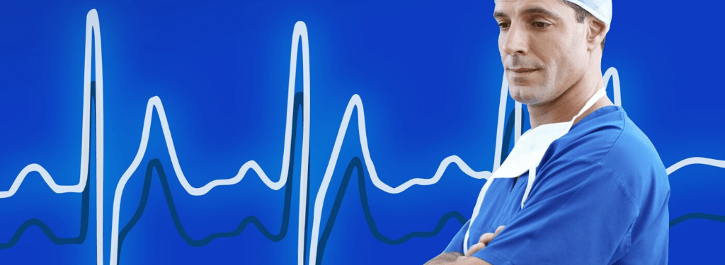 Physician giving header image