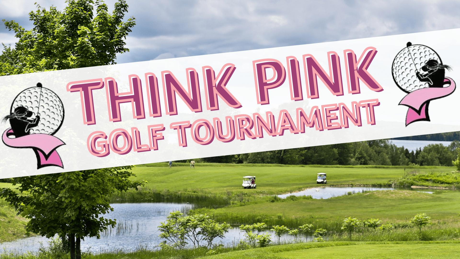 Think Pink Tournament Logo
